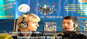 Interview Maguy Paes – Discution sur la section Volley de l'ASV