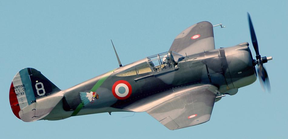Curtiss H75 Hawk G-CCVH