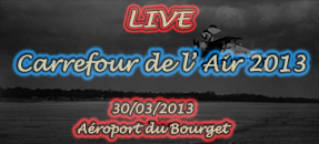 [Annonce] ASV TV au Carrefour de l'Air 2013 – Bourget