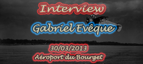 [Interview] Gabriel Evêque, Pilote de DC-3, Carrefour de l'Air 2013